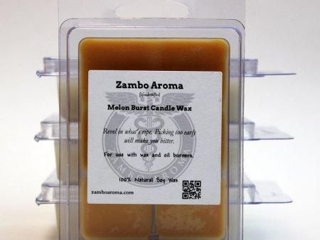 melon burst candle wax
