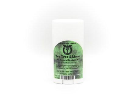 tea tree and lime deodorant