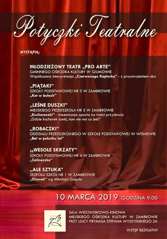 Potyczki Teatralne Zambrowiacypl