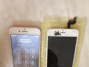 Замена экрана iPhone 6s за 2455 / 6s Plus за 2755/