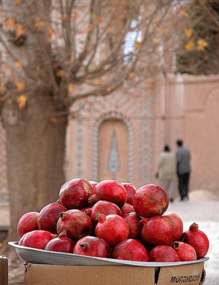 pomegranate in iran