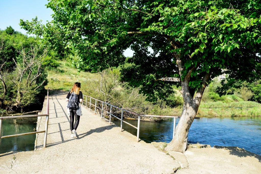 Бетонен мост, като знак за правилната ни посока