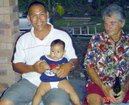 Lynn, Baby Rachel & Cedric Samoa 2012
