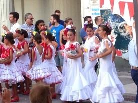 Fiesta in La Linea Spain