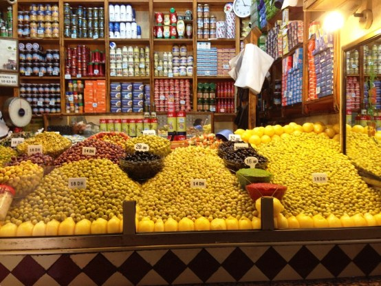 Olives Tangier Morocco