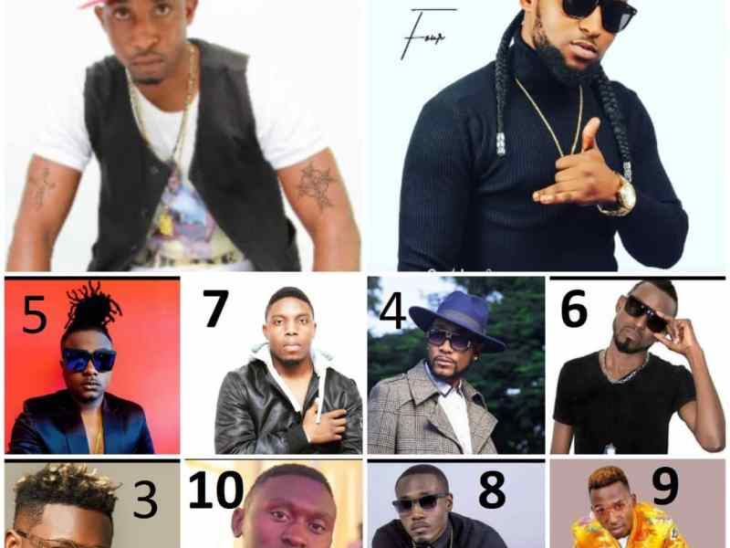 Top 10 most handsome  zambian musicians.