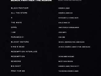 Kendrick Lamar & Various Artists - Black Panther [OST ALBUM], Kendrick Lamar, Various Artists, Black Panther, OST, ALBUM, download, cdq, 320kbps, audiomack, dopefile, datafilehost, toxicwap, fakaza, mp3goo, zip, alac, zippy, album, descarger, gratis, telecharger, baixer, EP, rar, torrent, sharebeast
