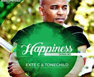 Exte C, Tonechild, HAPPINESS, Original Mix, mp3, download, datafilehost, fakaza, Soulful House Mix, Soulful House, Soulful House Music, House Music