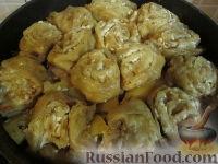 """Foto till receptet: """"Strudel"""" med potatis och kött"""