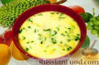 Foto till receptet: Kycklingsoppa med smält ost