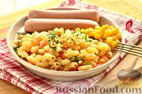 Foto till receptet: Pasta stewed i en stekpanna