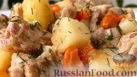 Foto till receptet: grillat med potatis, hemtrevlig