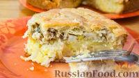عکس به دستور غذا: فلاش پای با سیب زمینی و سیرا