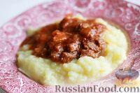 Foto till receptet: Gulashbiff med potatis potatismos