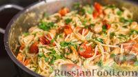 Foto till receptet: Spaggey med kyckling och körsbärstomater