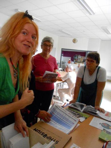 Stéphanie, Françoise et Geneviève