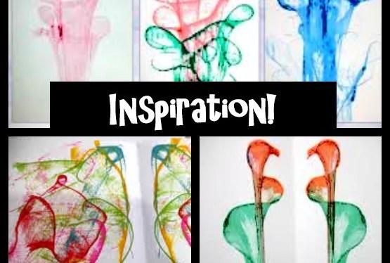 Art Journaling String Printing