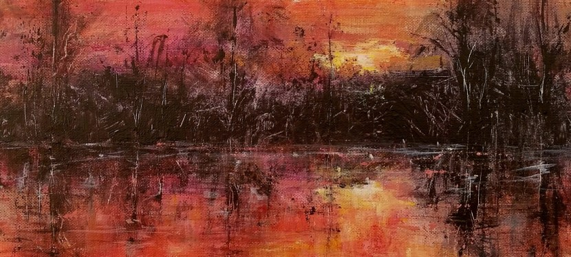 Acrylic South Carolina Abstract