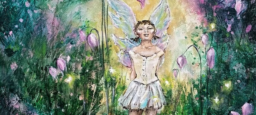 Acrylic Degas Little Dancer Fairy