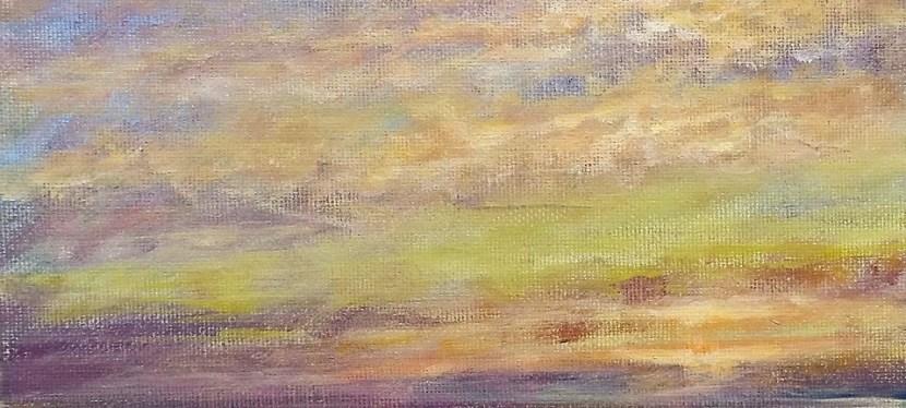 Acrylic Cape May at Sunrise