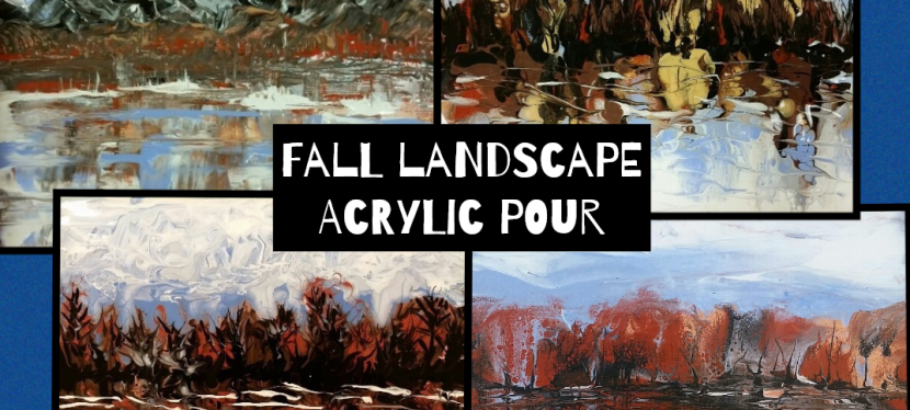 Flow Fall Landscape