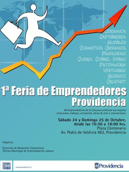 2009 Afiche feria de Emprendimiento OCTUBRE