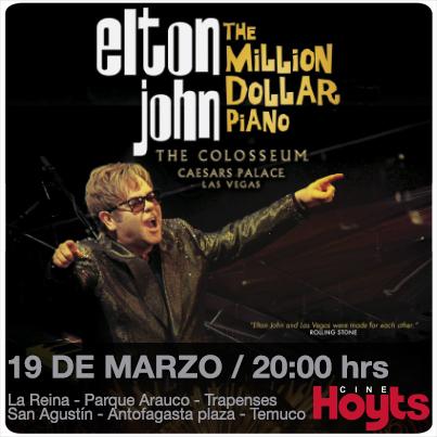 Elton John Redes con fechas
