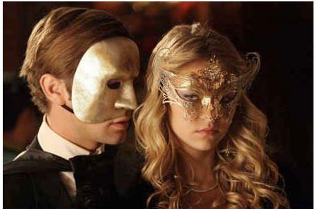 gossip girl máscaras