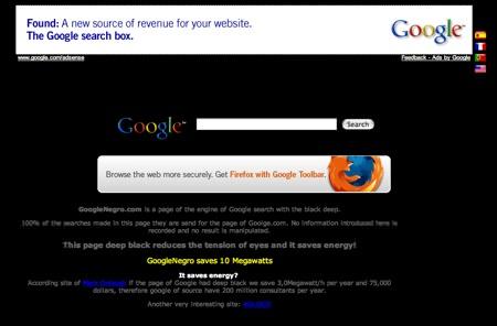 Googlenegro