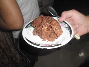 I tried to make brownies...