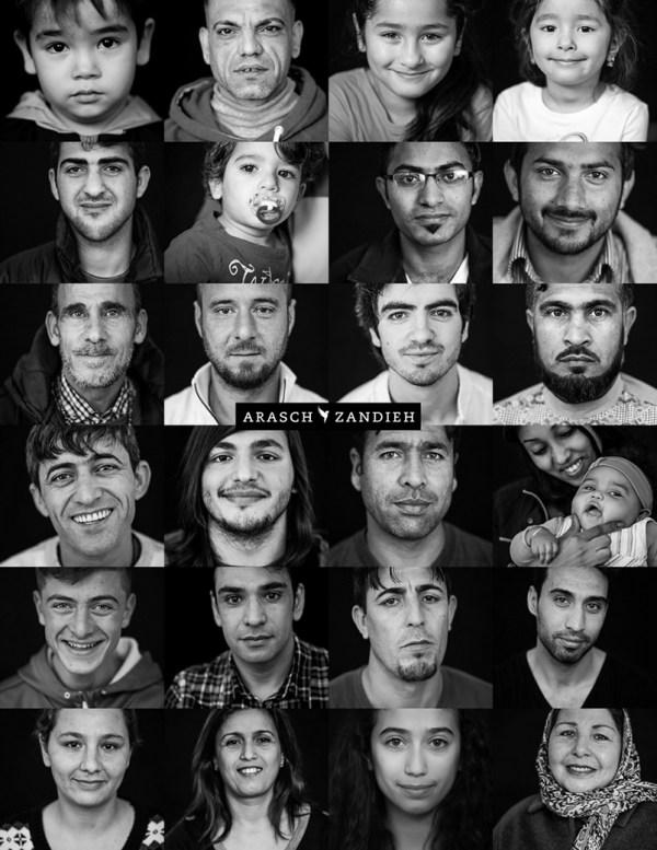 """""""Mein neues Zuhause"""" ist ein Integrationsprojekt des Fotografen Arasch Zandieh für Geflüchtete"""