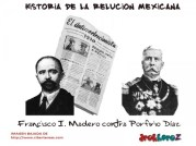 Francisco-I-Madero-contra-Porfirio-Diaz-Historia-de-la-Revolucion-Mexicana