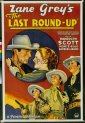 Last Round-Up - Based on The Border Legion - 1934 edition