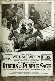 http://en.wikipedia.org/wiki/Riders_of_the_Purple_Sage_%281918_film%29#mediaviewer/File:Riders_of_the_Purple_Sage_1918.jpg