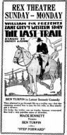 The Last Trail - 1921 edition