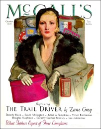 McCall's Magazine, Trail Rider serial from Oct. 1931—Feb. 1932