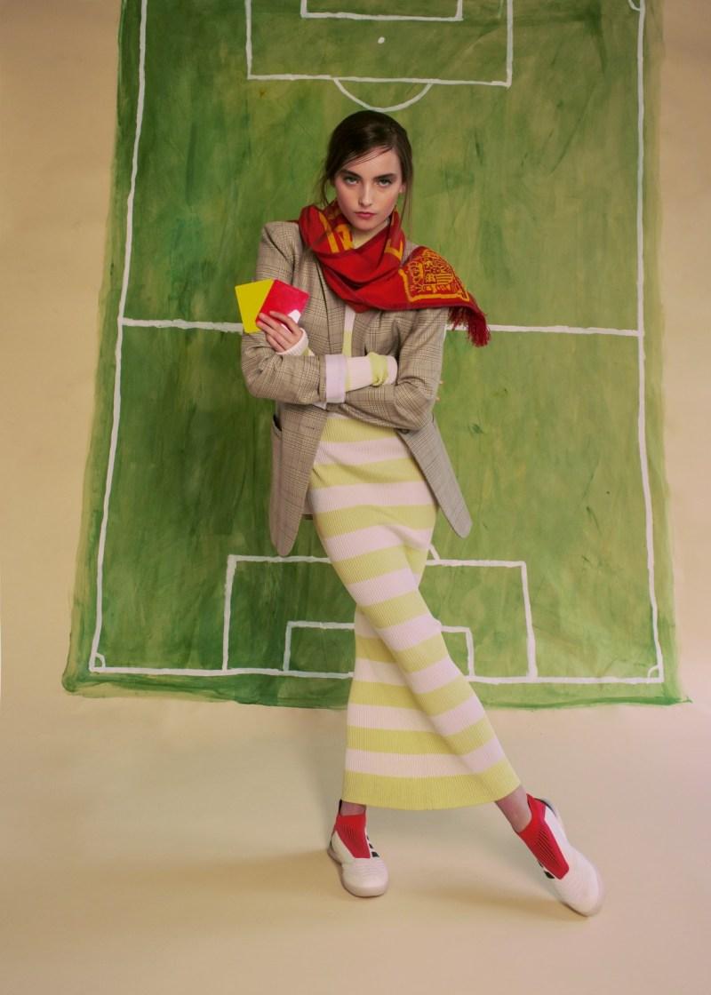 tibi belt fashion soccer