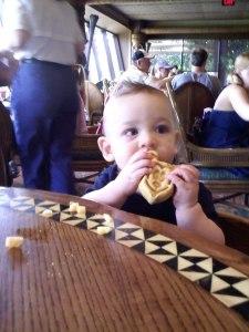 Baby's 1st Mickey Waffle