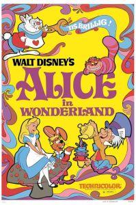 Walt Disney's Alice in Wonderland poster