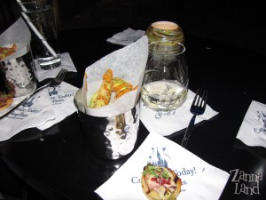 Appetizers at The Wave