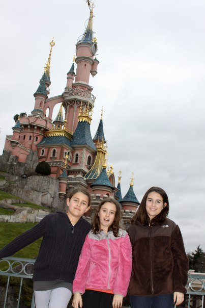 Sleeping Beauty Castle at Disneyland Paris