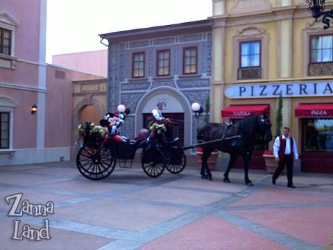 Mickey and Minnie at Via Napoli