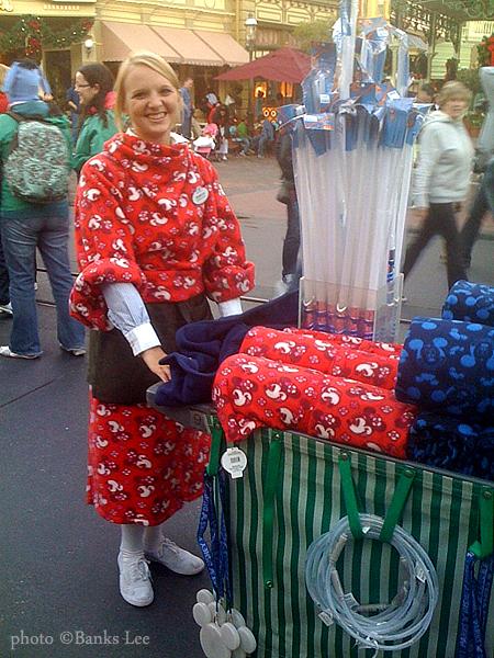 Disney Mickey and Minnie Snuggie