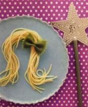Tangled Rapunzel Princess Pasta