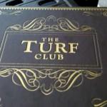 Turf Club Menu