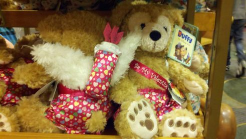 Duffy Valentine's Day bears