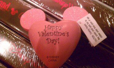 Valentines Mickey antenna topper