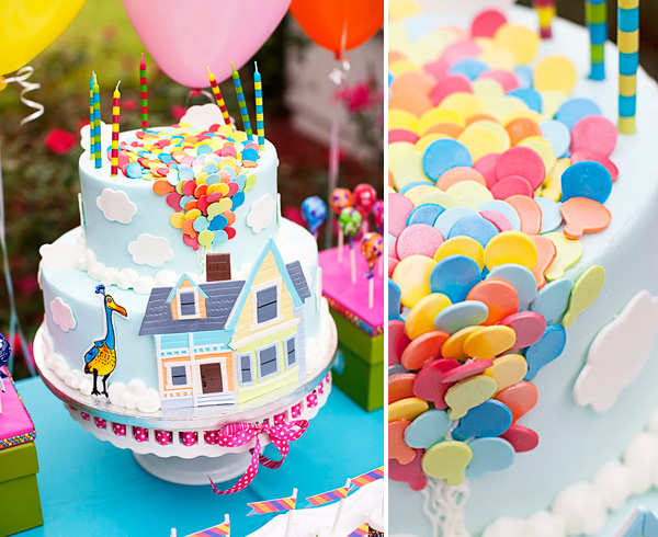 UP birthday cake