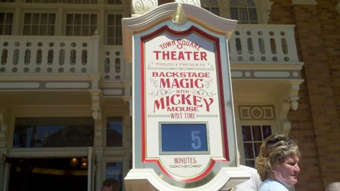 Wait time for Mickey