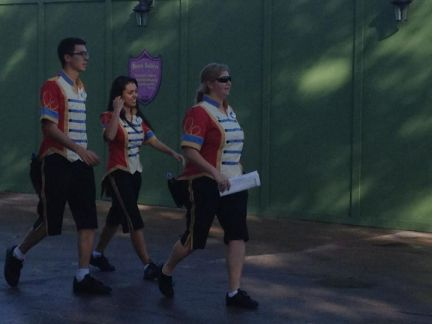 Storybook Circus Cast Member costumes
